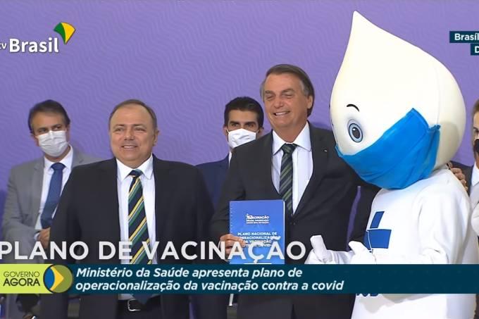 Pazuello tv brasil ze gotinha