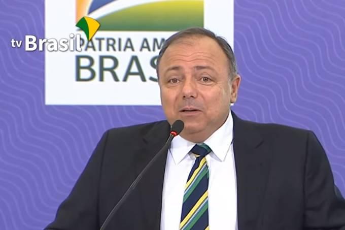 Pazuello tv brasil