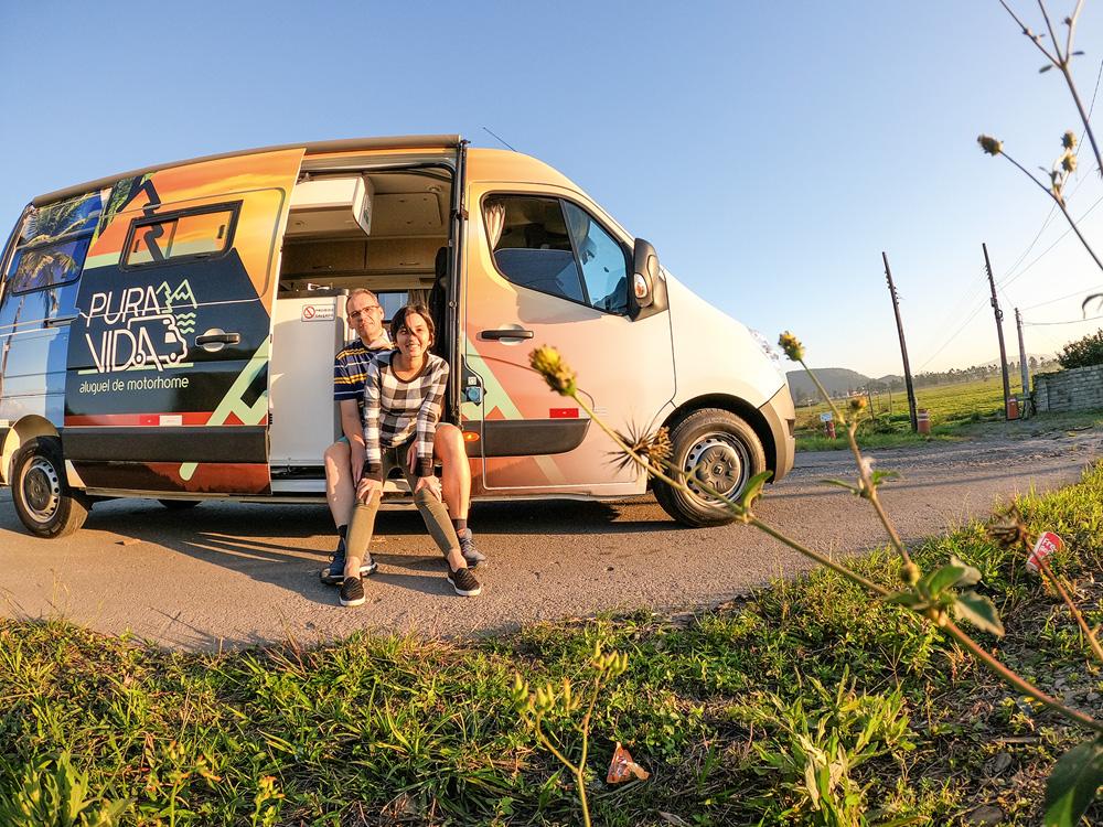 Priscila Melo e Sandro Silva: viajantes profissionais