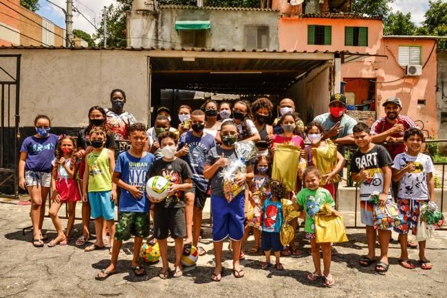Estacionamento da Vai-Vai: Carnaval e solidariedade