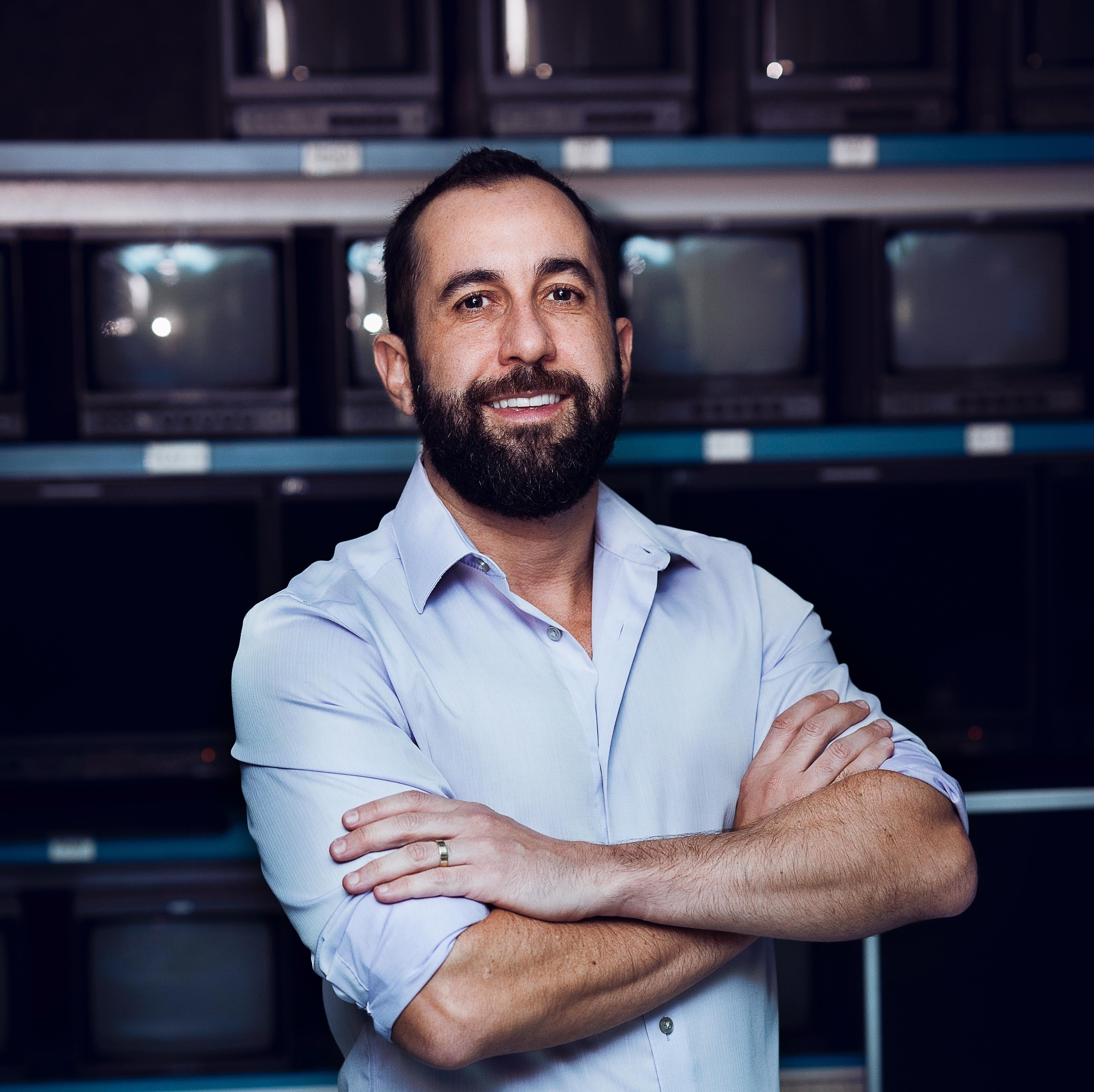O CEO da Loading, Thiago Garcia: paixão por quadrinhos