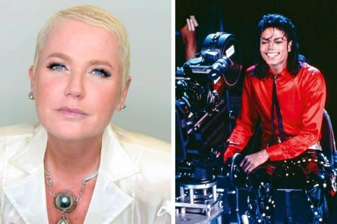 Xuxa Michael Jackson reprodução divulgação