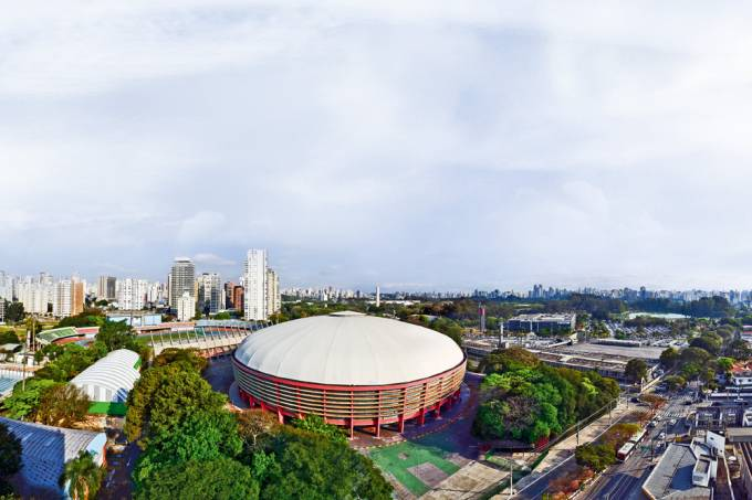 Sao Paulo, Brazil – Ibirapuera district panoramic view