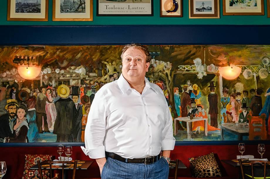 Chef Érick Jacquin oferece uma cozinha familiar no Ça-Va