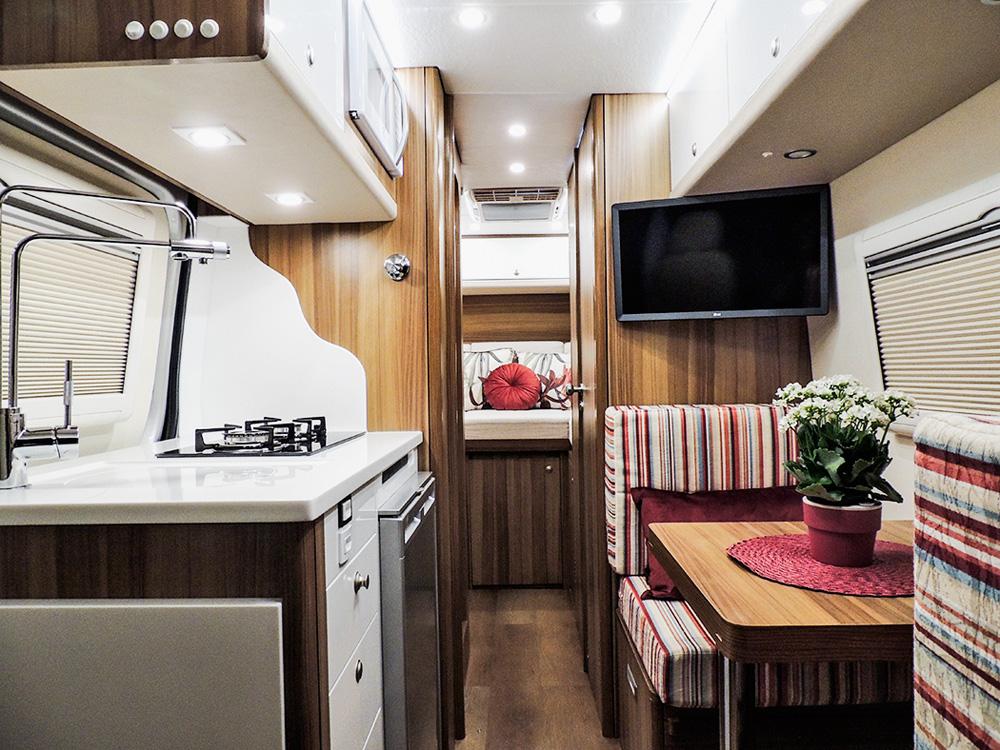 Interior Motor Home