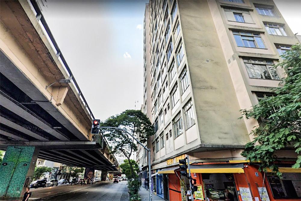 Alvo de polêmicas: Edifício Coimbra, na Amaral Gurgel