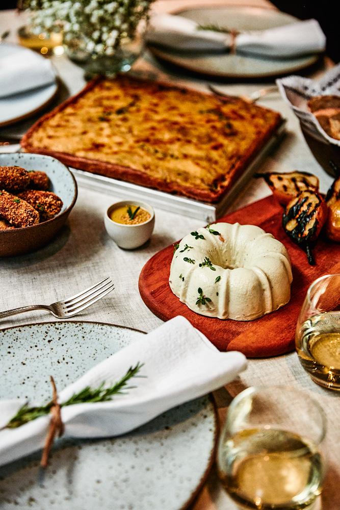 Empório Ráscal: musse de queijo, torta de cebola e croquete