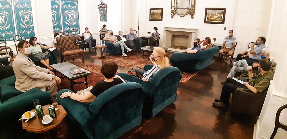 Reunião da UND
