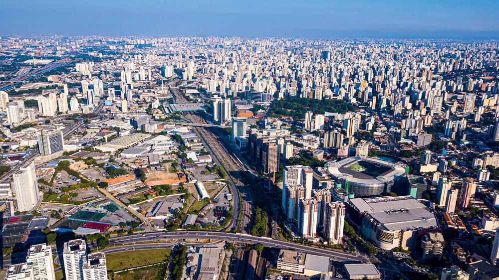 Palmeiras-Barra Funda: localizada ao ao lado de bairros como Perdizes e Pompeia, shoppings, parques e universidades