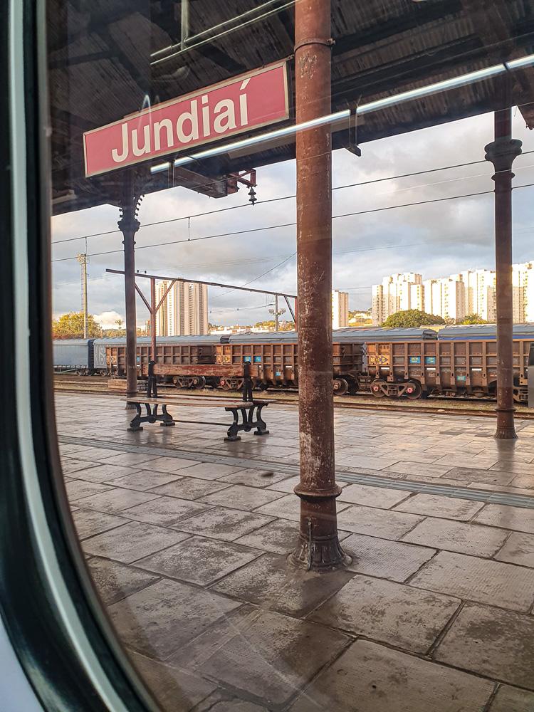 Pilastras da estação Jundiaí