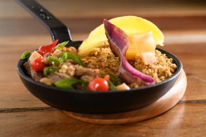 Animus: arroz cremoso de costela