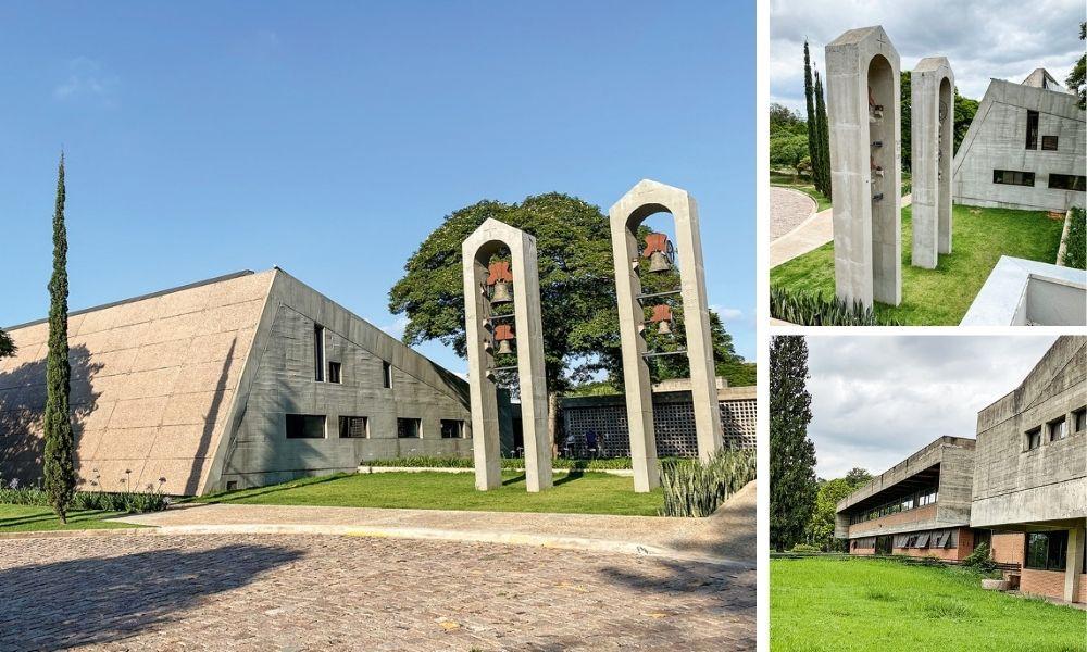 Campanários do mosteiro de Vinhedo