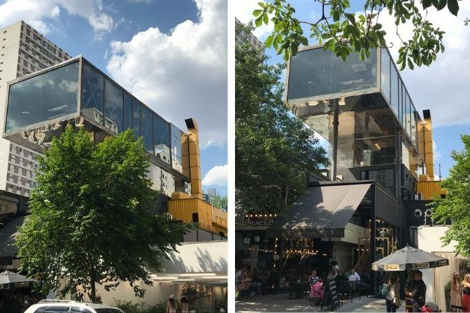 O projeto do Chez Oscar, na Rua Oscar Freire