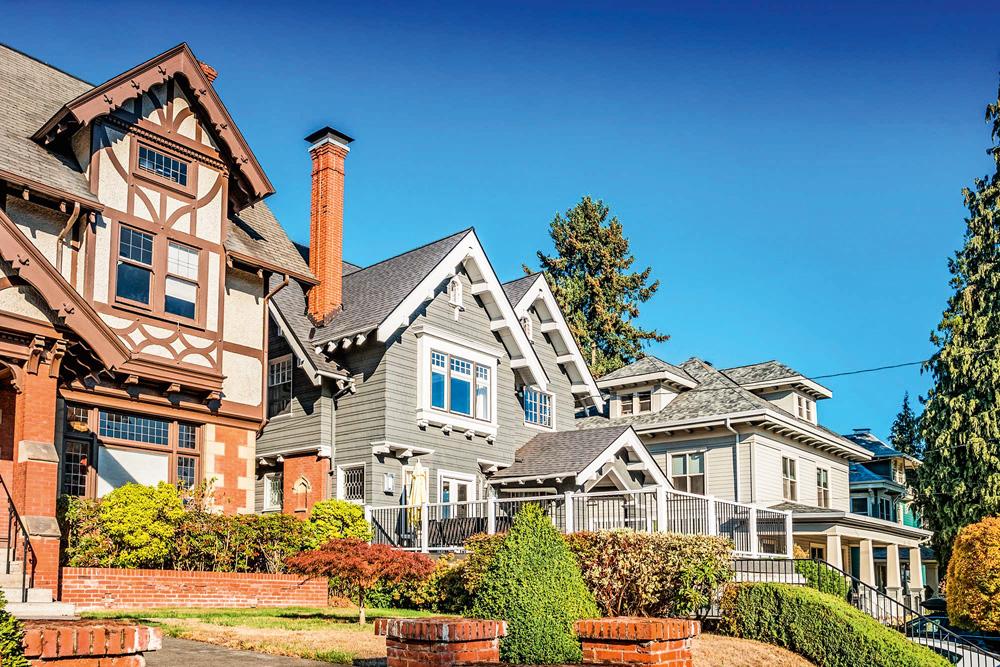 Imagem de casas americanas