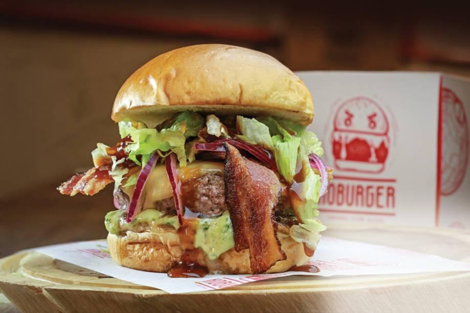 Chef's koburger: feito com wagyu