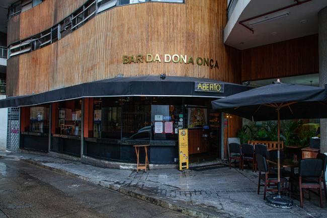 Achados ELO - Bar da Dona Onça fachada