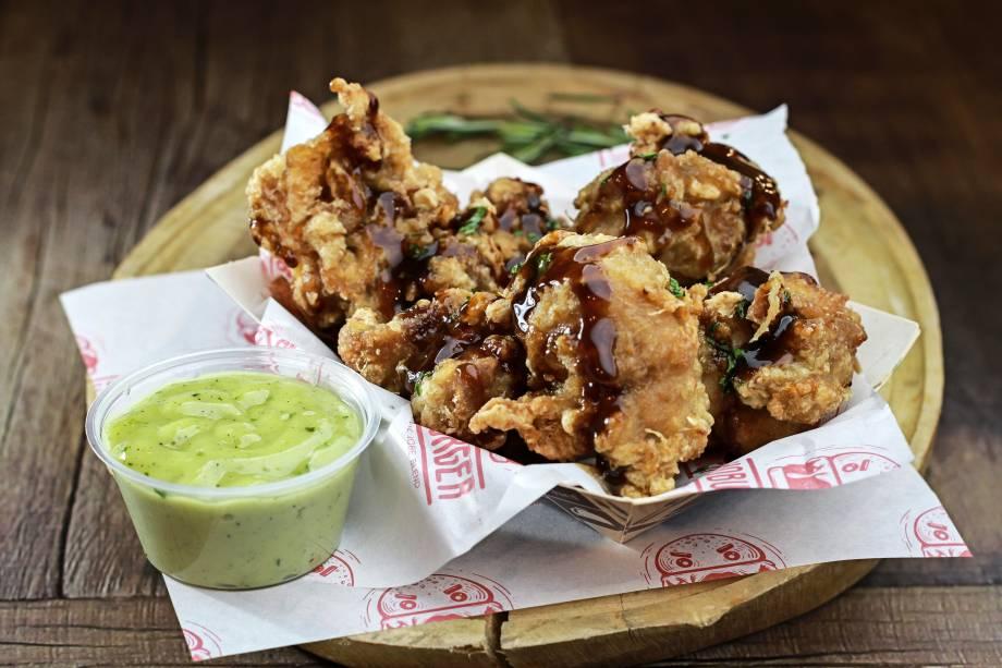 Karaage: frango frito como aperitivo