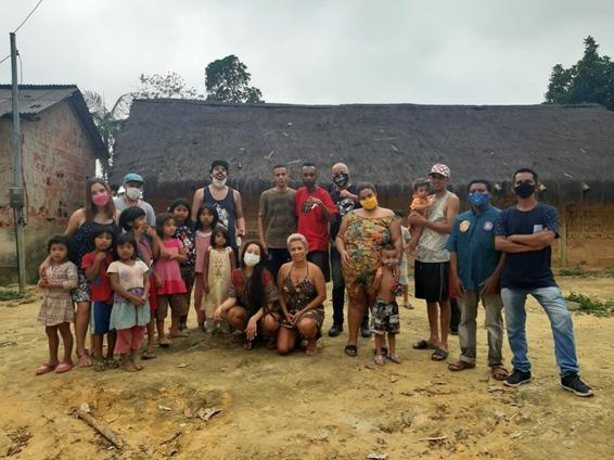 Igo na aldeia de Parati