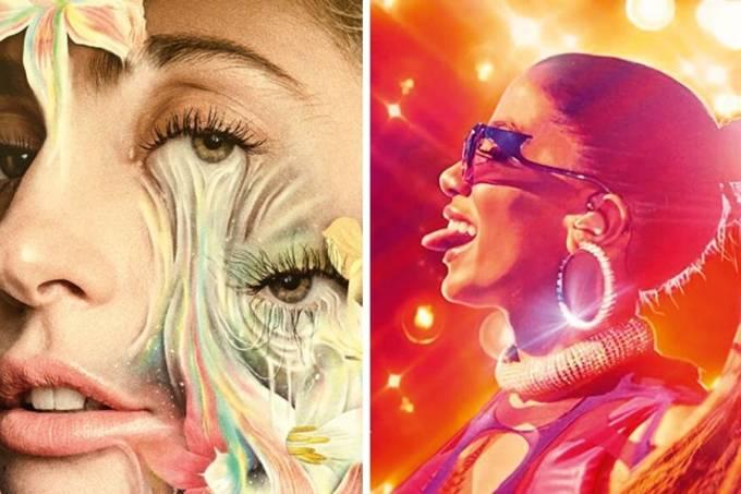 Lady Gaga Anitta capa documentarios musicais