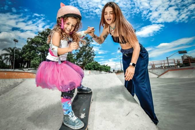 Matéria de Capa Skate