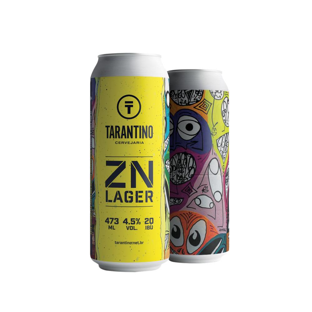 Cerveja ZN Lager: disponível em supermercados e e-commerce
