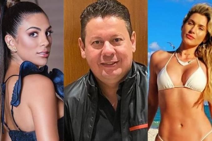 Pétala Barreiros, Marcos Araújo e Lívia Andrade (Reprodução)