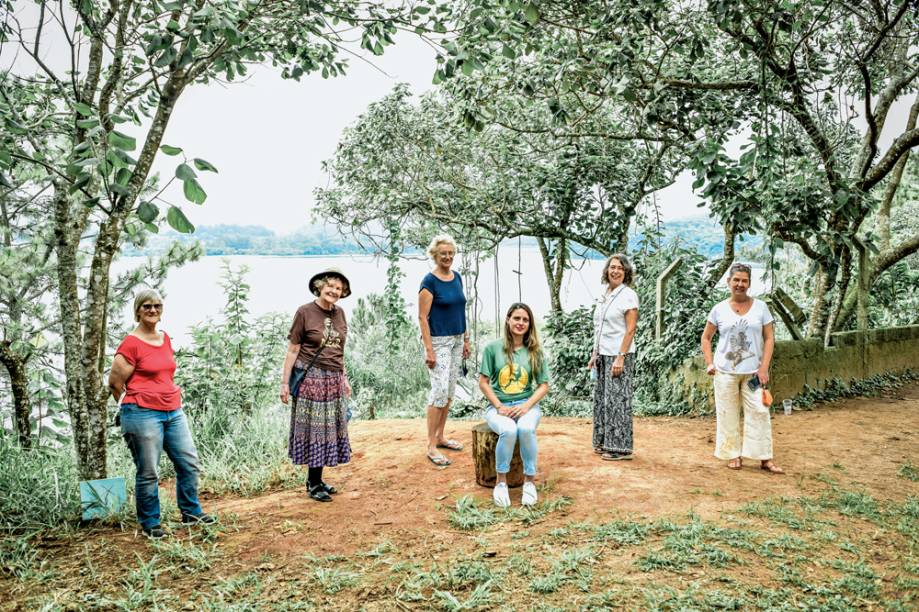 Represa do Guarapiranga: Moradoras da Riviera