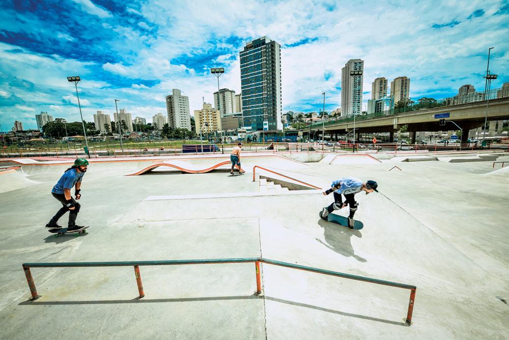 Pista de skate do Parque do Chuvisco, Zona Sul