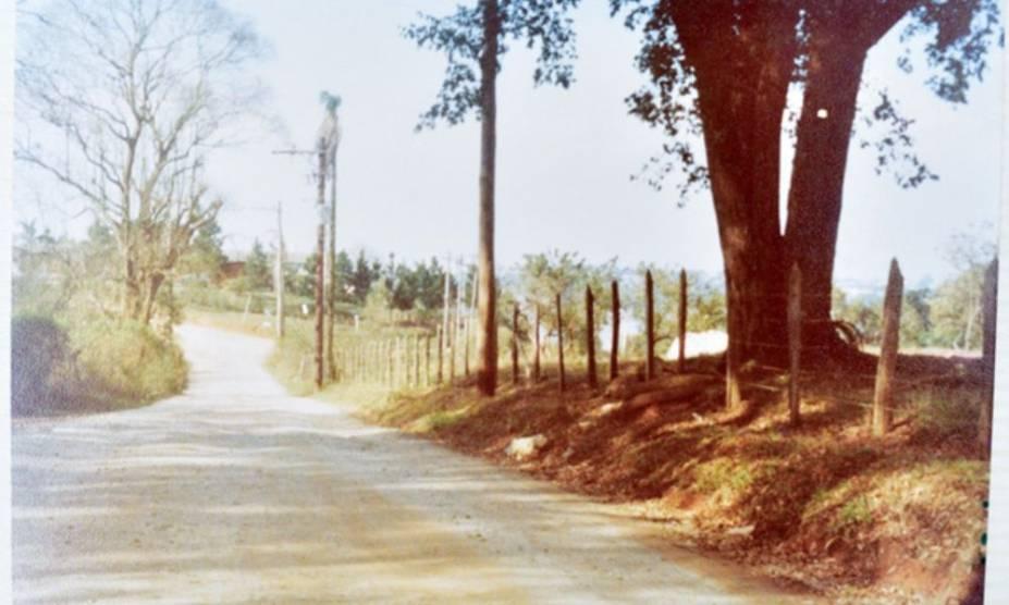 Imagem dos anos 60 mostra Rivieira quase sem árvores: espaço foi arborizado com o tempo, assim como o entorno da Guarapiranga
