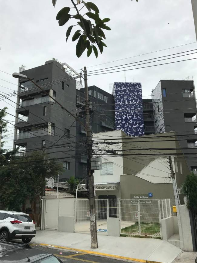 O Pop XYZ, na Rua Delfina, na Vila Madalena