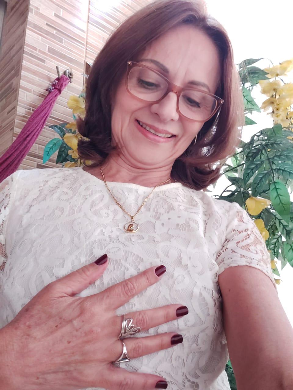 Maria do Socorro Moreira, um mês após a cirurgia do explante: