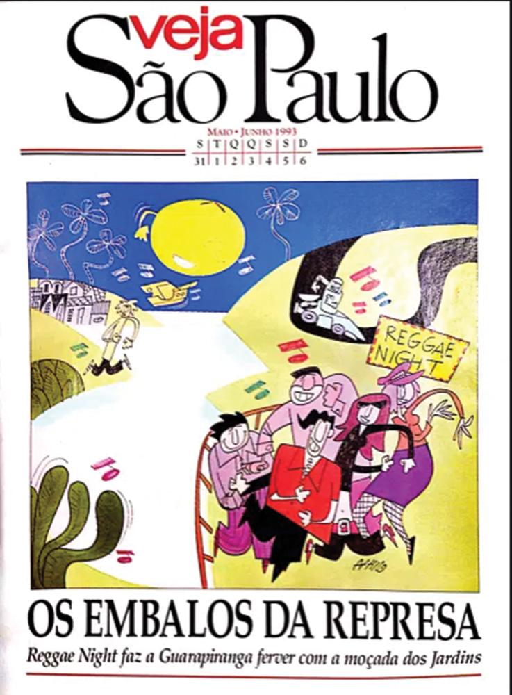 Capa da Vejinha de 1993
