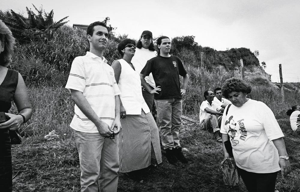 Covas e Padula na infância, em foto preto e branca