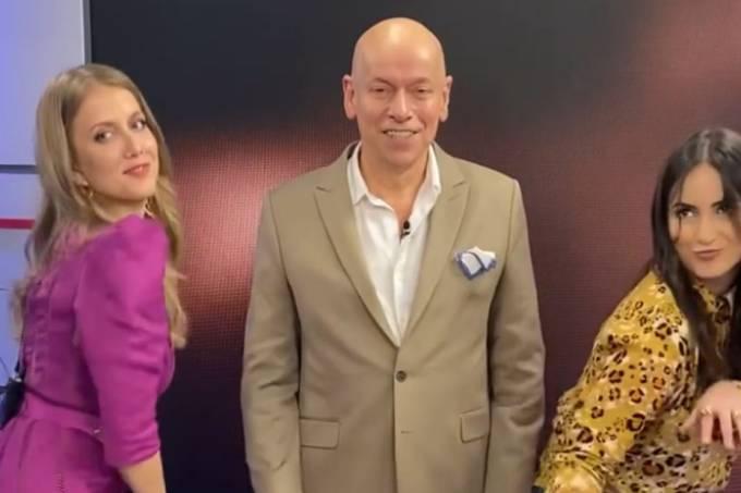 Leandro Karnal, Mari Palma e Gabriela Prioli