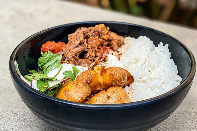 Mica – curry de cordeiro