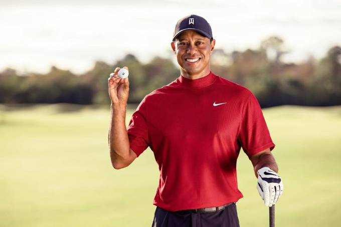 O jogador de golfe Tiger Woods