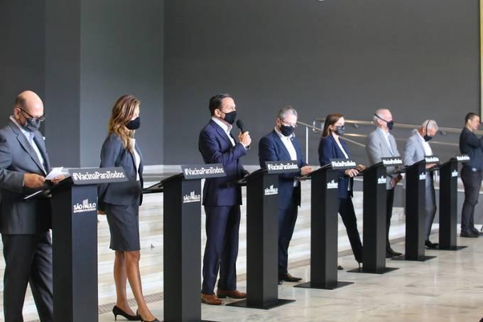 Governo de São Paulo anuncia medidas para conter o avanço da Covid-19