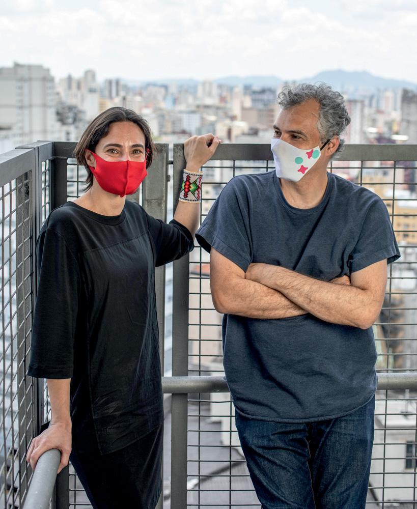 Michelle e Finotti no Mirante