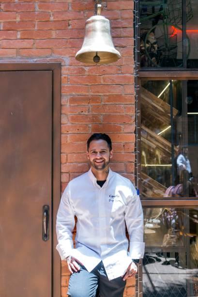 Diego Lozano: confeiteiro à frente do negócio