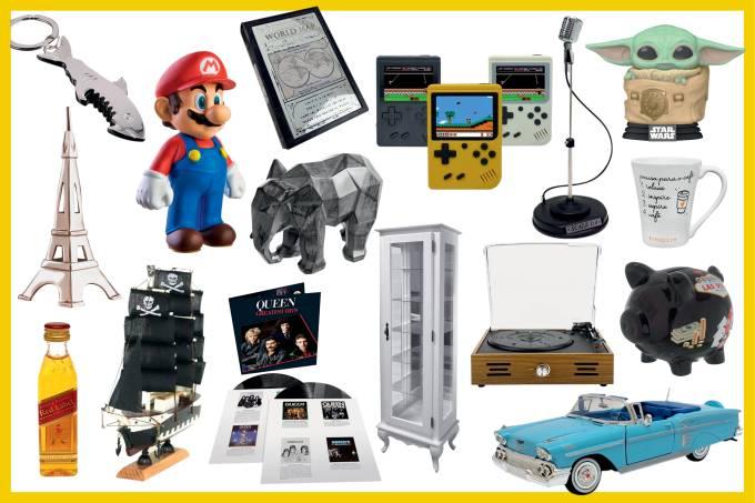 Coleção de xodós: uma seleção de itens clássicos para colecionadores