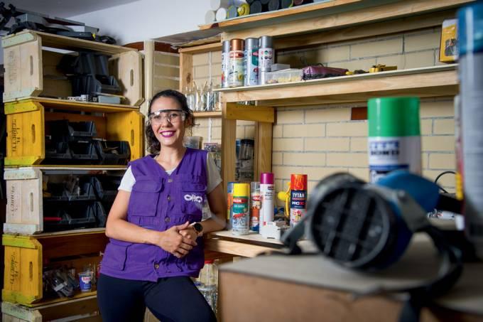 Katherine Pavloski: arquiteta deixa escritório para investir em reparos domésticos para mulheres