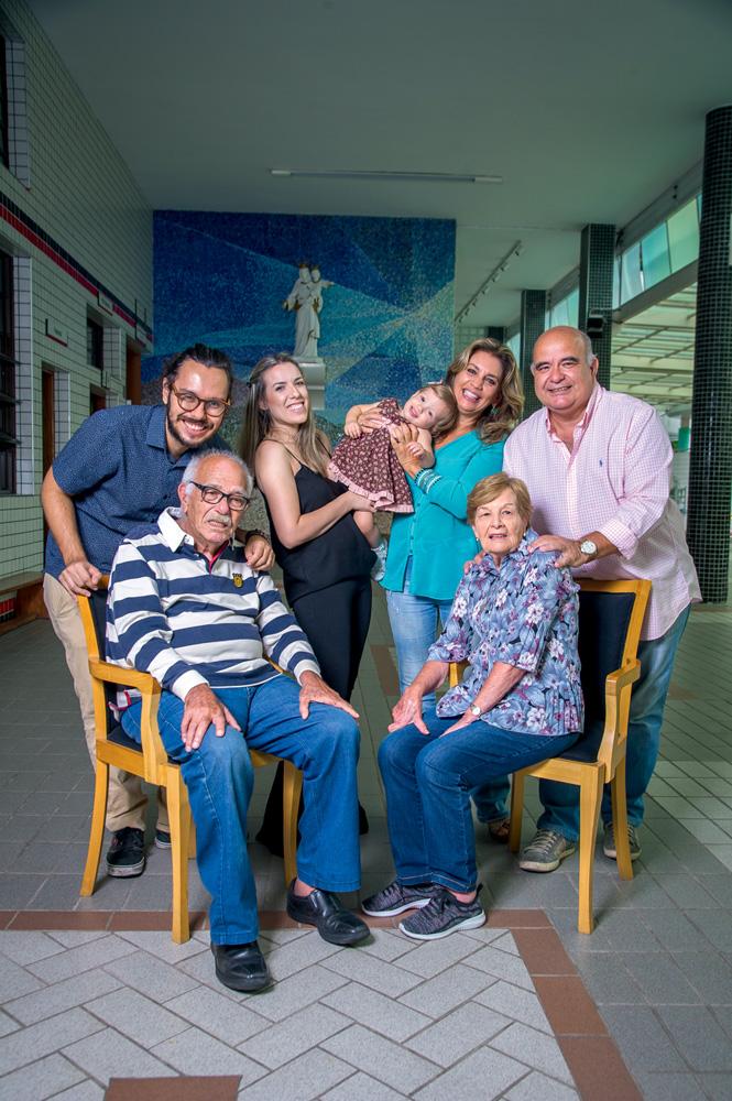 Família no Salesiano