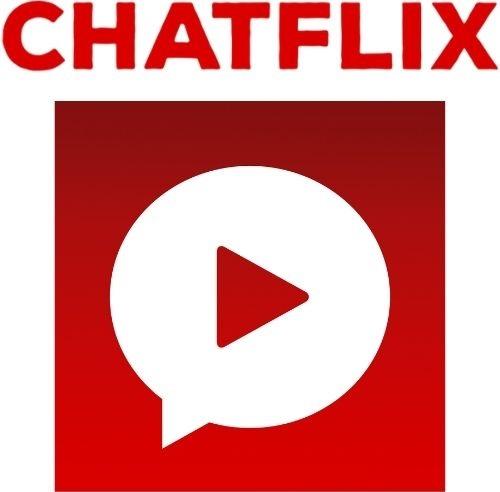 Logotipo Chatflix: aplicativo reúne histórias fictícias em formato de conversas virtuais.