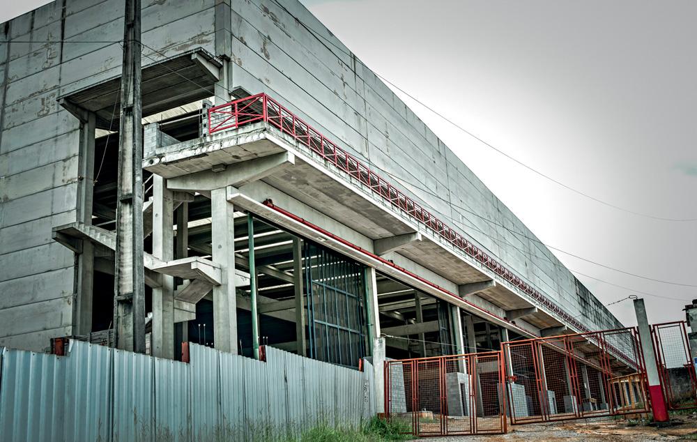 estrutura da fábrica do samba