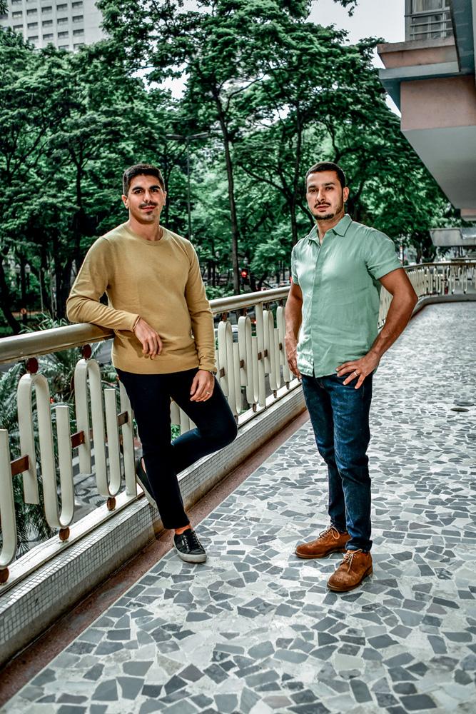 Ian Duarte Lucas e Allan Seabra