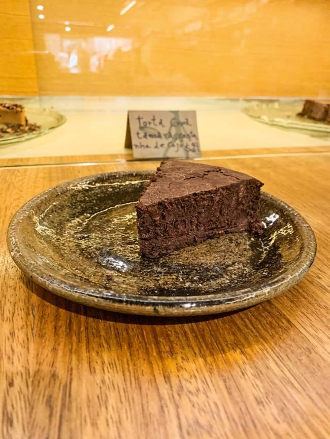 Bolo divino: de chocolate 60%