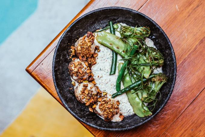 Quincho: risoto de quinoa