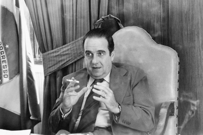 Paulo Egydio Martins, governador de São Paulo