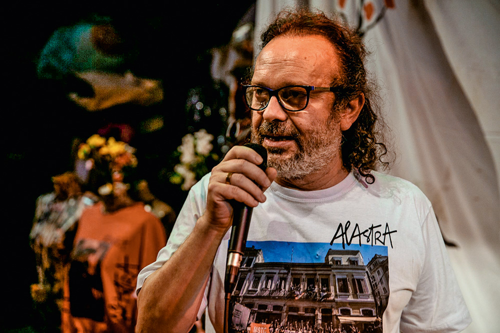 Paulo Faria, diretor da Cia Pessoal do Faroeste: