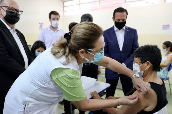 Vacinação Serrana João Doria